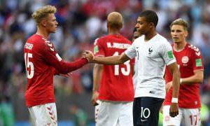 Mundial Rusia 2018: Bajo un pacto de no agresión, Francia y Dinamarca aseguraron la clasificación