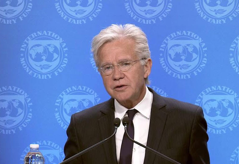 Gerry Rice consideró positiva la reunión de Guzman con las autoridades del FMI