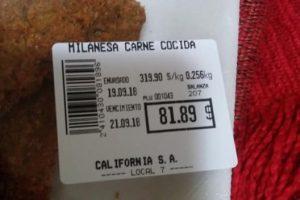 """""""La milanesa como indicador de la economía"""""""