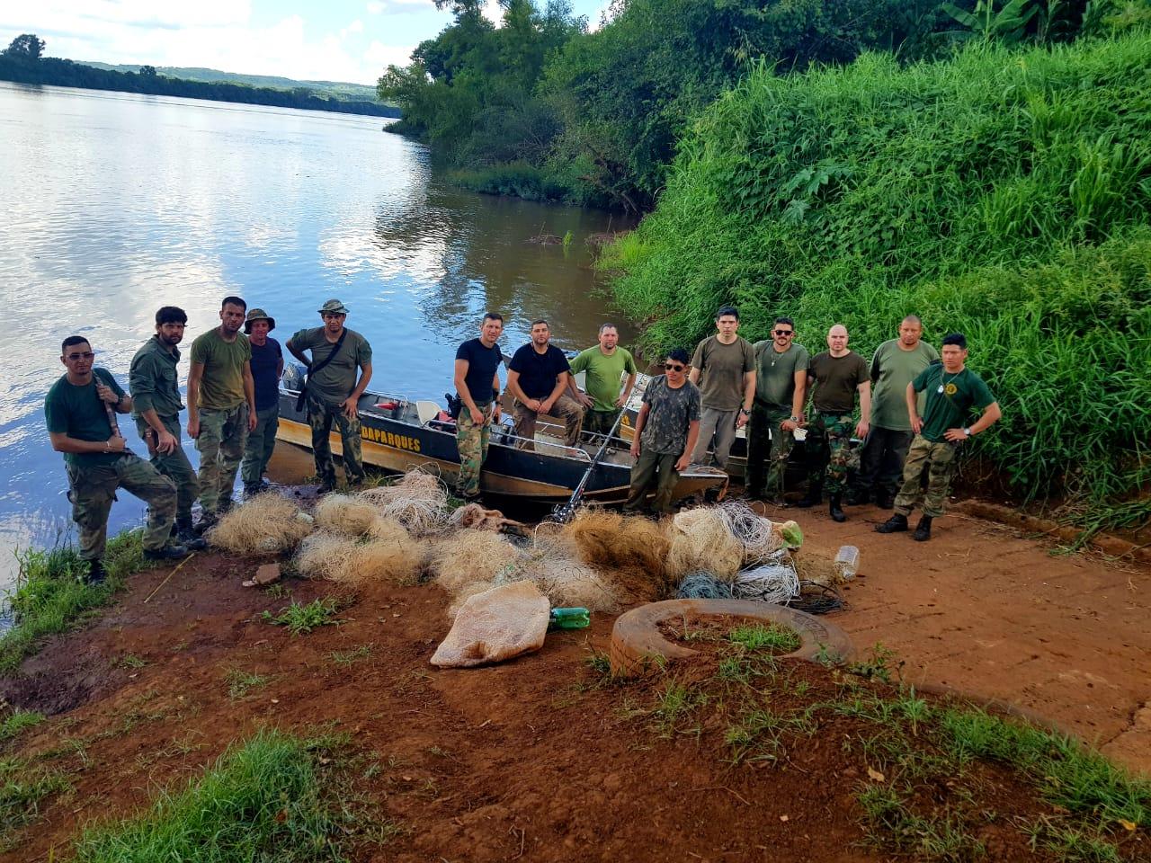 Golpe a la caza furtiva en el río Uruguay