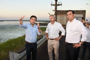 Frigerio anunció la apertura del nuevo paso fronterizo Ituzaingó-Ayolas