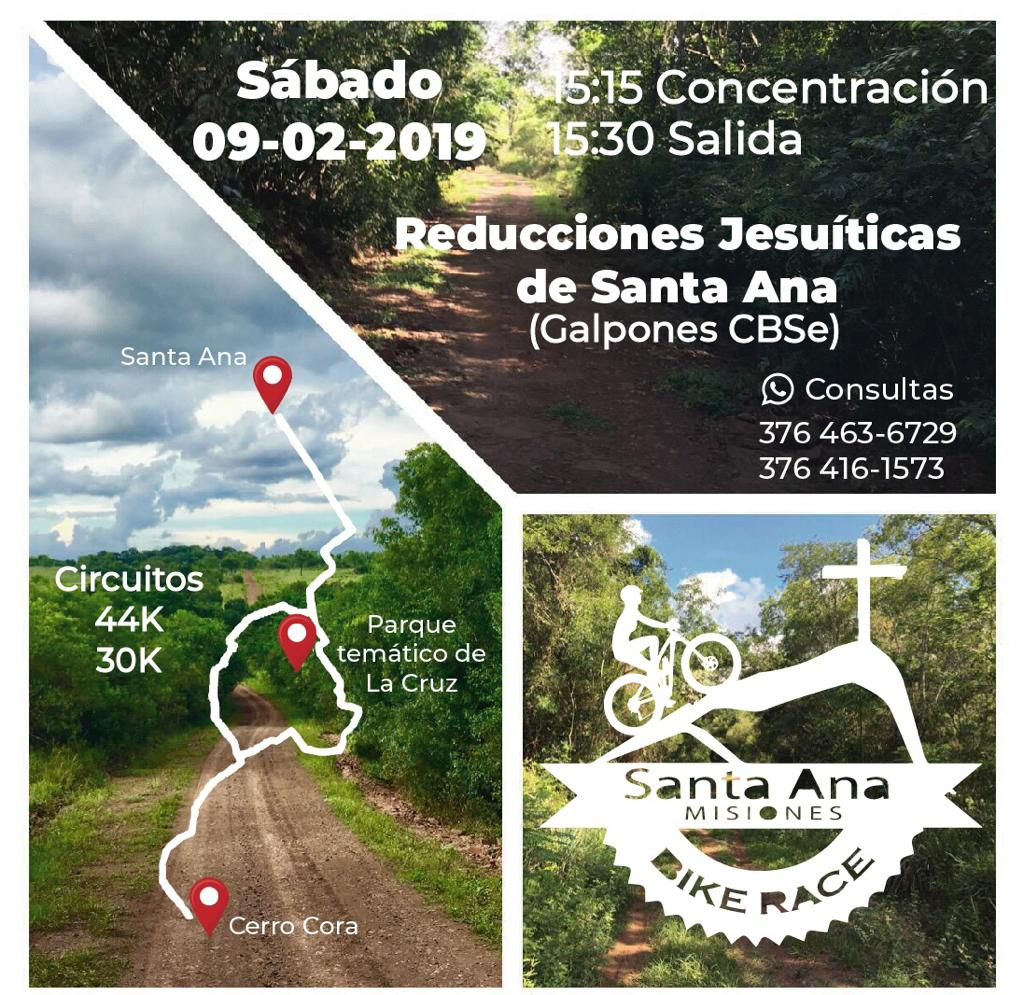 "Invitan al cicloturismo aventura ""Cerro Santa Ana"""