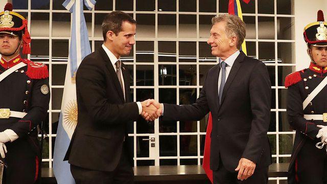 """El presidente Macri recibió a Juan Guaidó, quien afirmó: """"Vamos a terminar con la usurpación"""""""