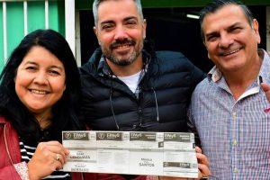 Mónica Santos: «Los vecinos de Posadas ven en el FPAyS una opción de buenas personas»