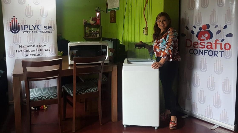 En Puerto Esperanza entregaron el premio de Desafío Confort