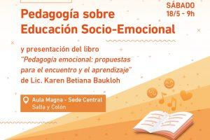 Jornada de pedagogía sobre educación socio-emocional en la UGD