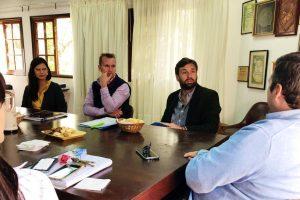 Pianesi intercambió ideas de trabajo con la Cámara de Comercio de Posadas