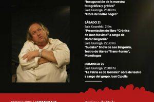 Homenaje a «Rulo» Fernández en el Cidade