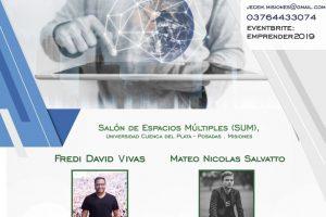El Emprender Misiones 2019 se realizará el viernes 27 de septiembre