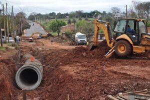 Vialidad Provincial moderniza varias avenidas de Posadas
