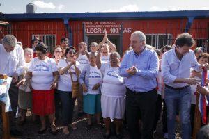 Passalacqua inauguró el centro de jubilados «Alegría» en Oberá