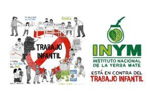 Ferias y eventos se suman a la campaña contra el trabajo infantil que impulsa el INYM