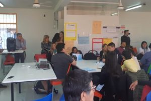 Profesores secundarios conocieron el modelo pedagógico de la Escuela Secundaria de Innovación