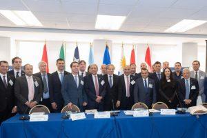 Herrera Ahuad firmó histórico acuerdo entre el Zicosur y la OEA
