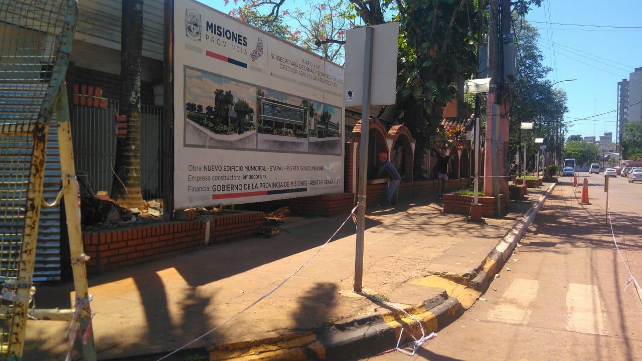 Passalacqua anunció la construcción del nuevo edificio municipal de Puerto Iguazú