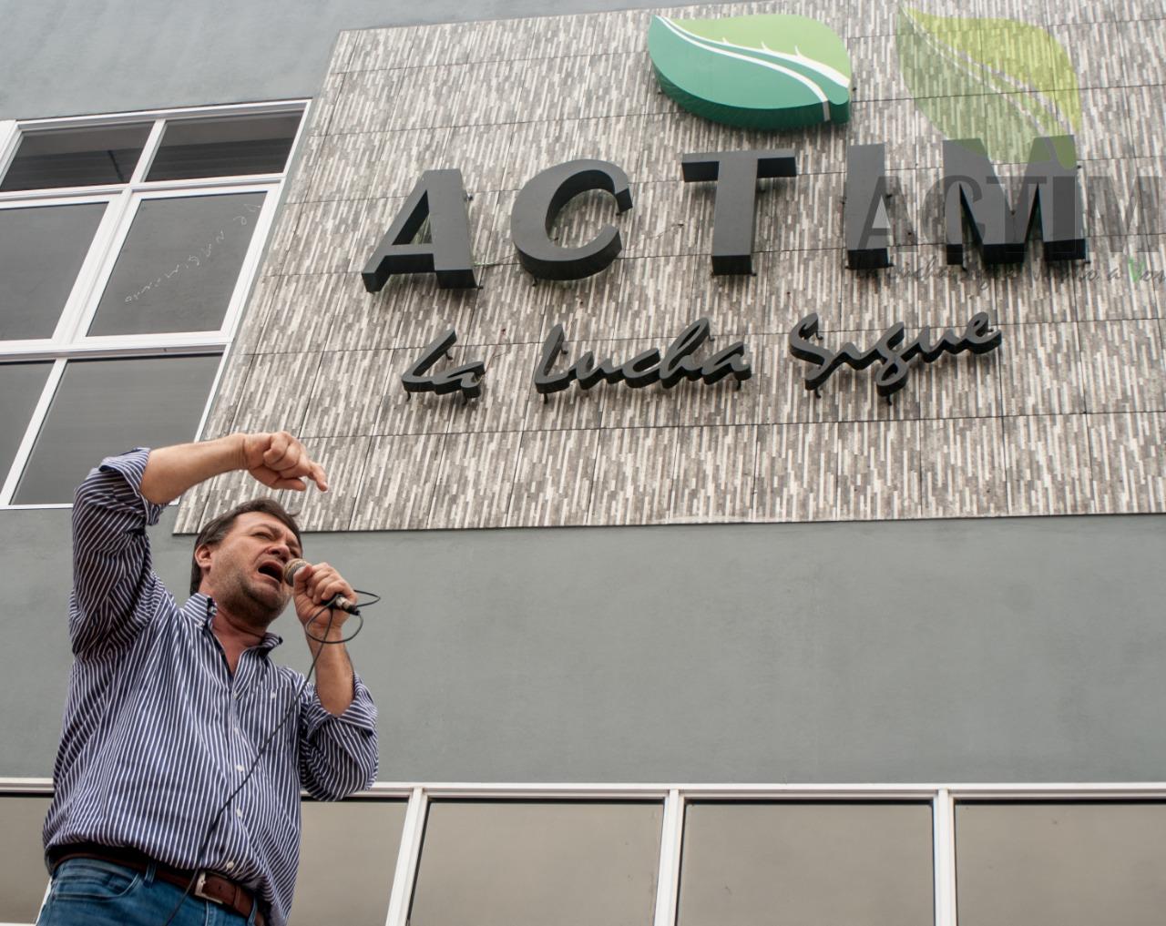Actim inauguró sede propia y Cacho Bárbaro fue reelecto en la presidencia