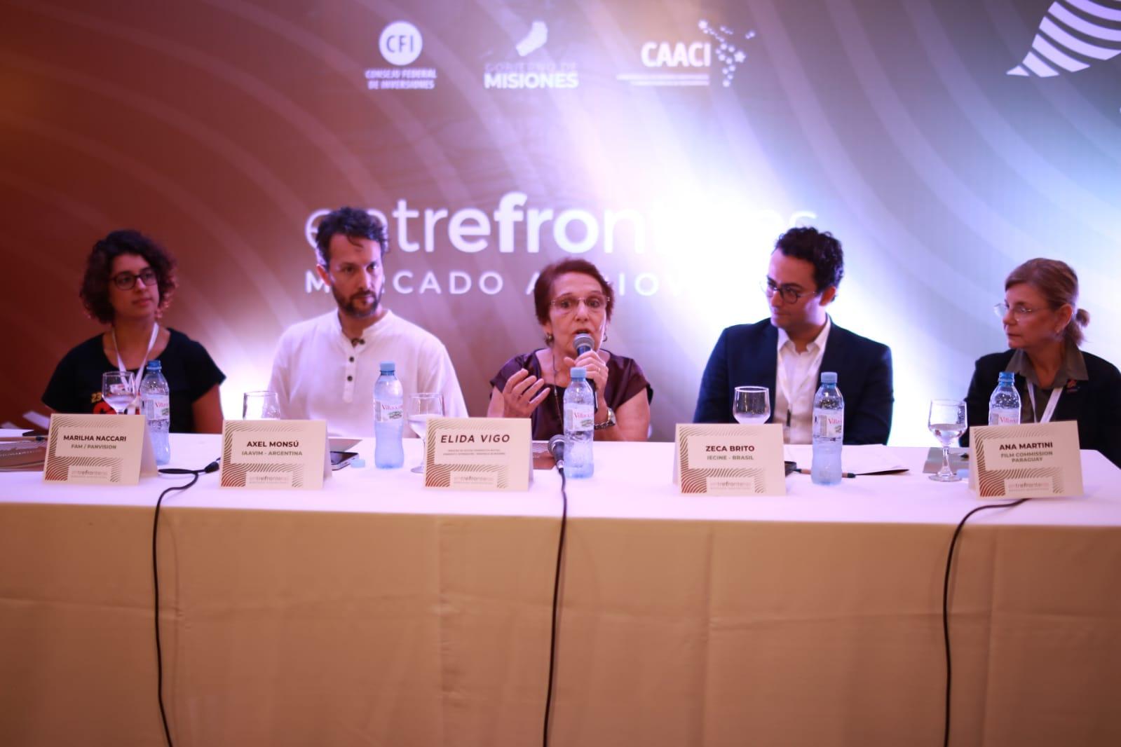 Exitoso inició del mercado audiovisual Entre Fronteras