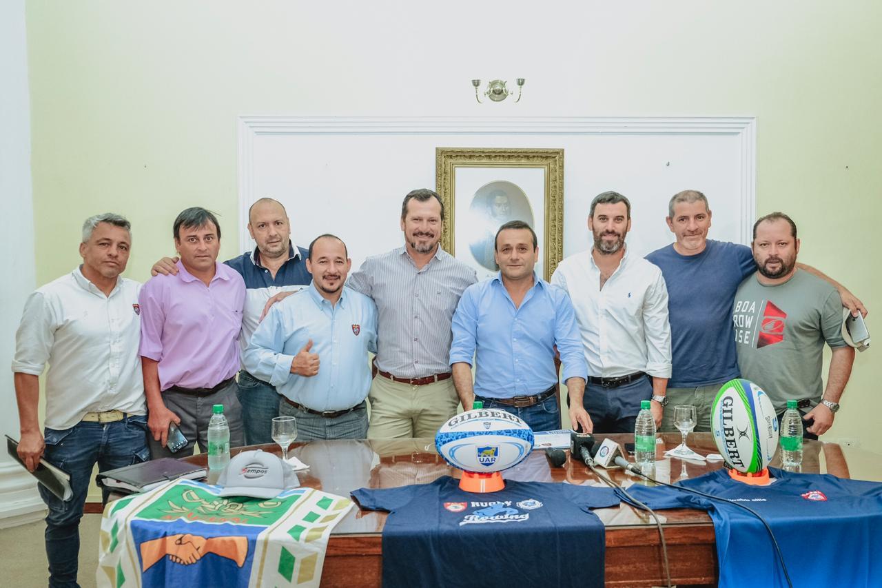 Herrera Ahuad lanzó el Encuentro de Rugby y dijo que continuará apoyando el deporte misionero