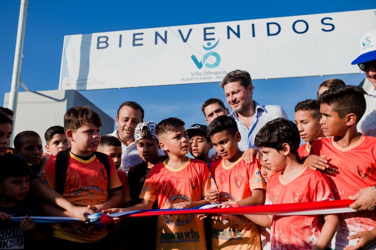 """Herrera Ahuad: «Debemos brindar cariño, amor y la posibilidad de una sociedad unida sin diferencias y eso lo hace el deporte"""""""