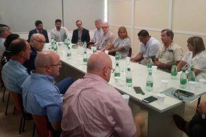 Inédita reunión de la cúpula empresaria con el director general de Rentas