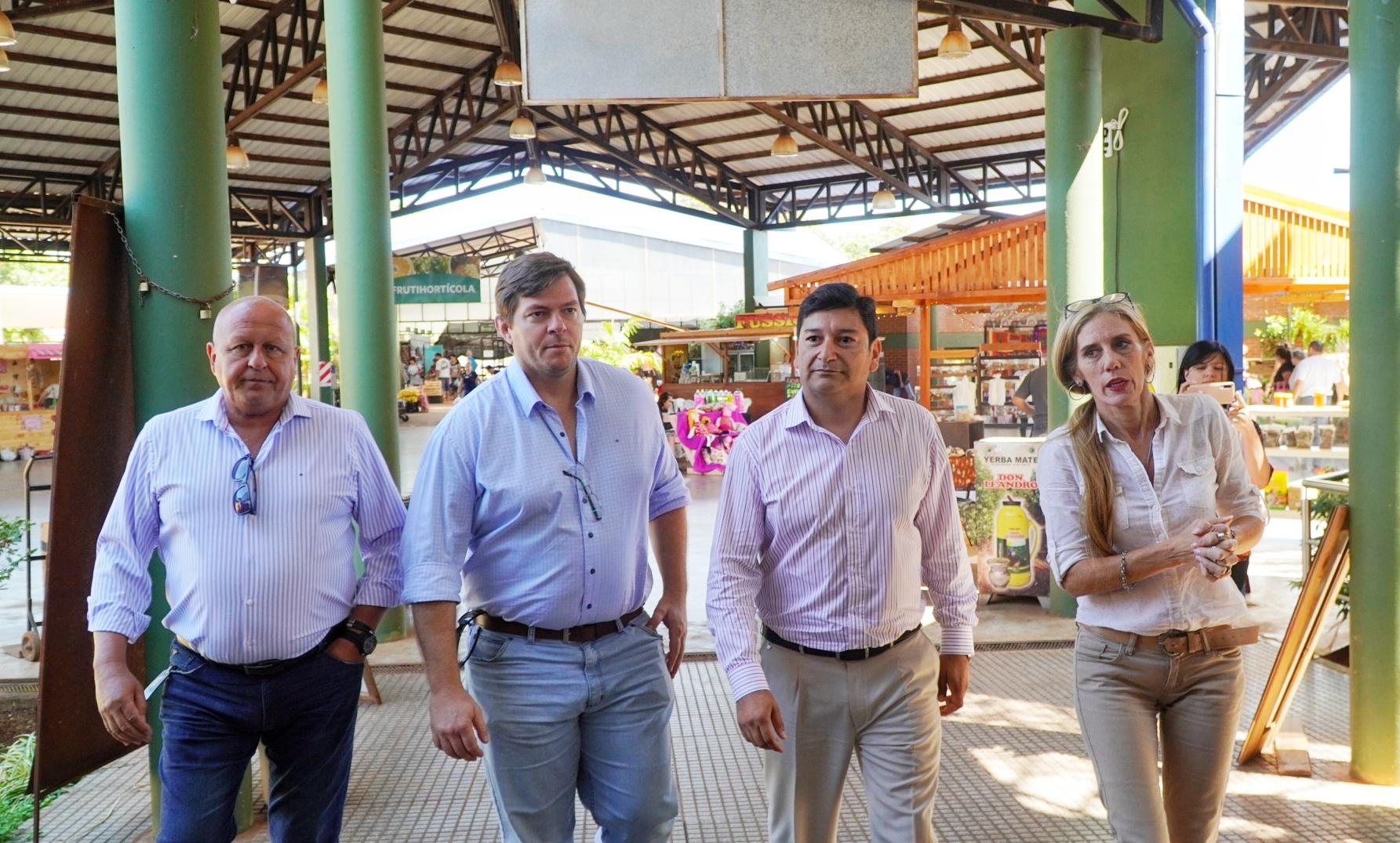 Evalúan las obras de puesta en valor y remodelación del Mercado Concentrador de Posadas