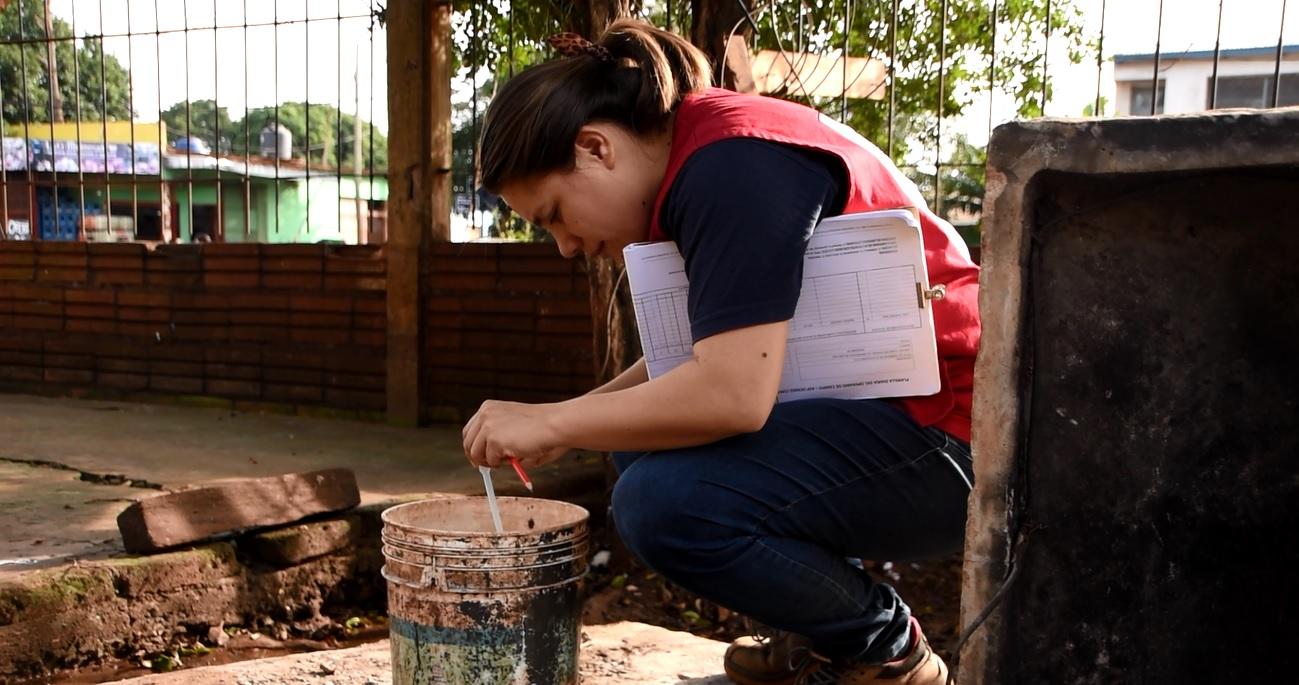 La campaña de prevención contra el dengue de Posadas, fue elogiada por Nación