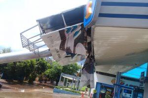 El temporal causó destrozos en Encarnación, en Posadas la OPAD registró un tornado