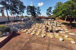 Fueron 10.258 kilos de marihuana, la droga incautada en Dos de Mayo