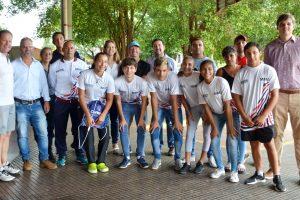 Misioneros acuden al Campus de los juegos olímpicos de la juventud