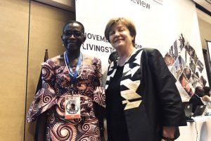 Georgieva propuso como subdirectora del FMI a una economista liberiana