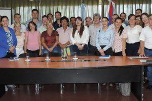 El Ministerio de Trabajo recibió a funcionarios de la Superintendencia de Riesgos del Trabajo