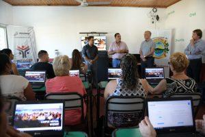 Personal de la municipalidad de Santa Ana recibió una capacitación del INFOGEP