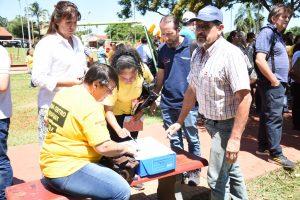 Operativo integral de descacharrizado y concientización contra el Dengue en Oberá