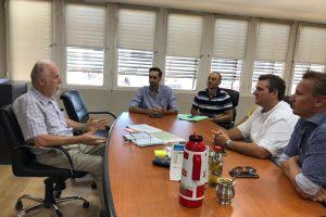 Empresarios de la CCIP plantearon a Aicheler su preocupación por los costos del servicio eléctrico
