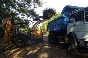 El municipio realizó tareas de descacharrado en Miguel Lanús