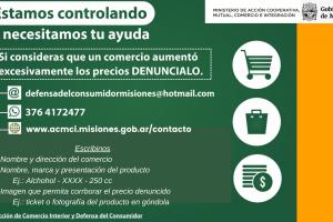 Coronavirus: refuerzan los controles de precios