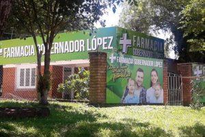 Gobernador López contará con su primera farmacia