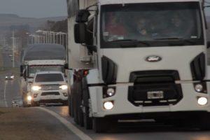 Acuerdan un protocolo sanitario para el transporte terrestre de alimentos