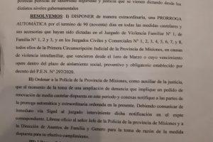 Cuarentena obligatoria: prorrogan todas las medidas cautelares de violencia de género o de familia