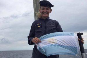Ara San Juan: Eliana Krawczyk fue ascendida a teniente de navío