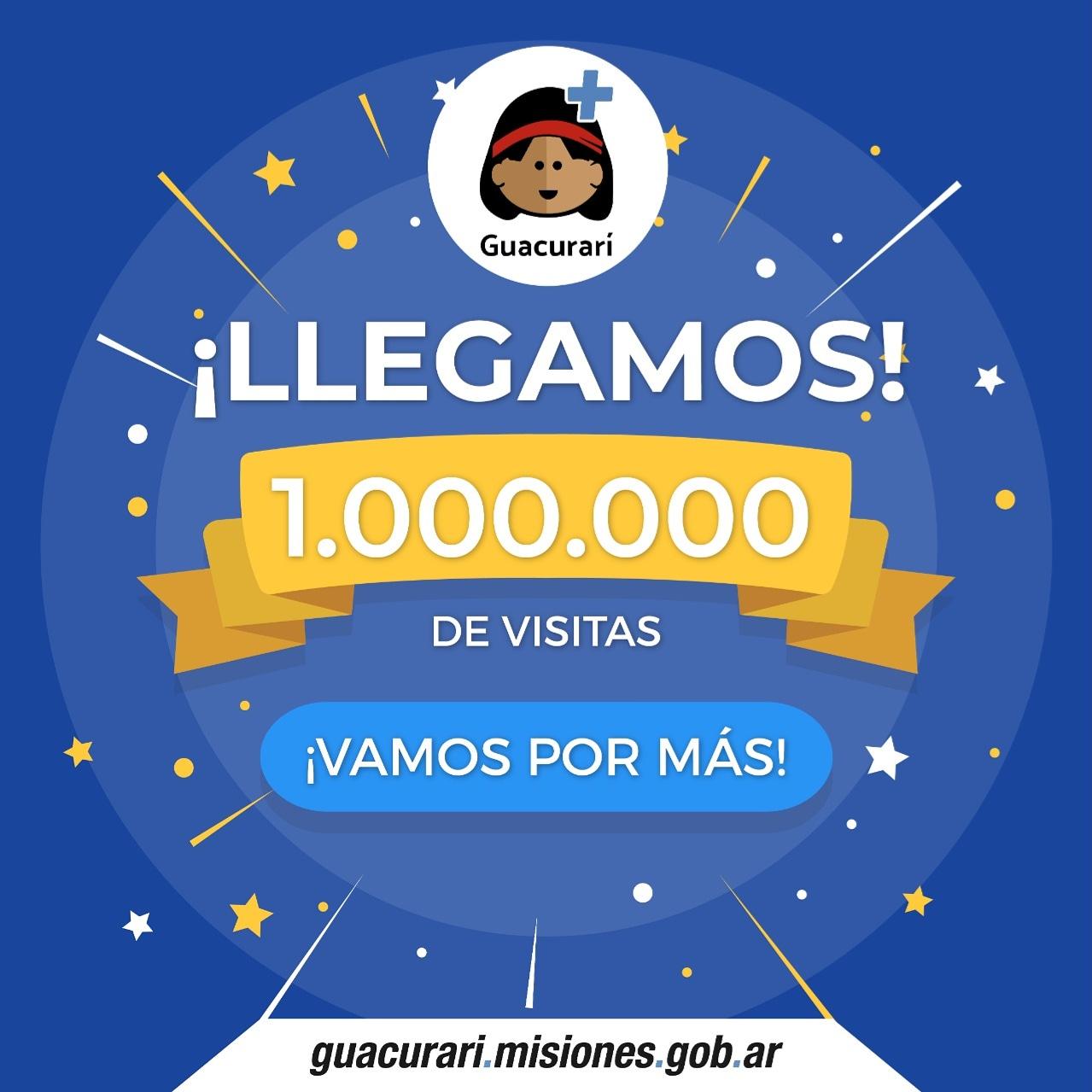 La plataforma Guacurarí superó el millón de visitas a contenidos educativos