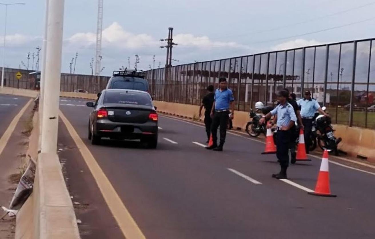 Realizarán controles de tránsito conjuntos entre la Municipalidad y la Policía