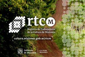 Comienza el Registro de Trabajadores de la Cultura de Misiones