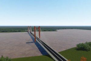 Britto solicita declarar de interés regional la homologación del proyecto del puente San Javier-Porto Xavier