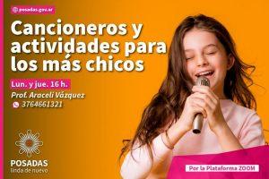 Cuarentena en casa: canciones y actividades para los más chicos