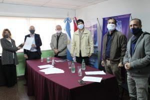 Se firmó un convenio para la prevención de adicciones entre el Ministerio de Prevención y la UNAM