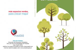 Presentarán la guía forestal urbana de Posadas