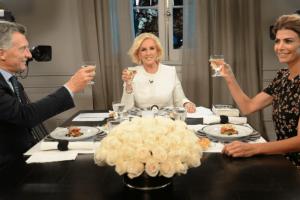 Las 15 definiciones de Macri en la cena con Mirtha Legrand en Olivos