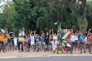 Masa Crítica cumple cinco años promocionado el uso de la bicicleta en Posadas