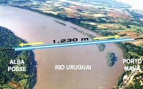 Desde el Parlasur buscarán impulsar la construcción del puente Alba Posse-Porto Mauá